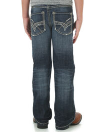 Rock 47 by Wrangler Boys' Relaxed Fit Boot Cut Jeans, , hi-res
