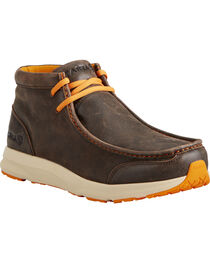 Ariat Men's Dark Brown Spitfire Shoes , , hi-res