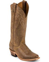"Nocona Women's 13"" Cozy Halfmoon Square Toe Western Boots, , hi-res"