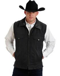Colorado Saddlery Black Conceal Carry Vest, , hi-res