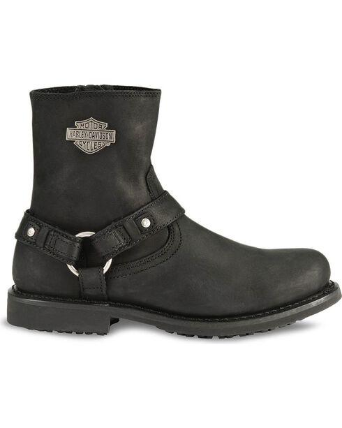 Harley Davidson Ranger Scout Pull-On Harness Boots, Black, hi-res