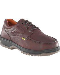 Florsheim Men's Compadre Oxford Work Shoes - Steel Toe, , hi-res