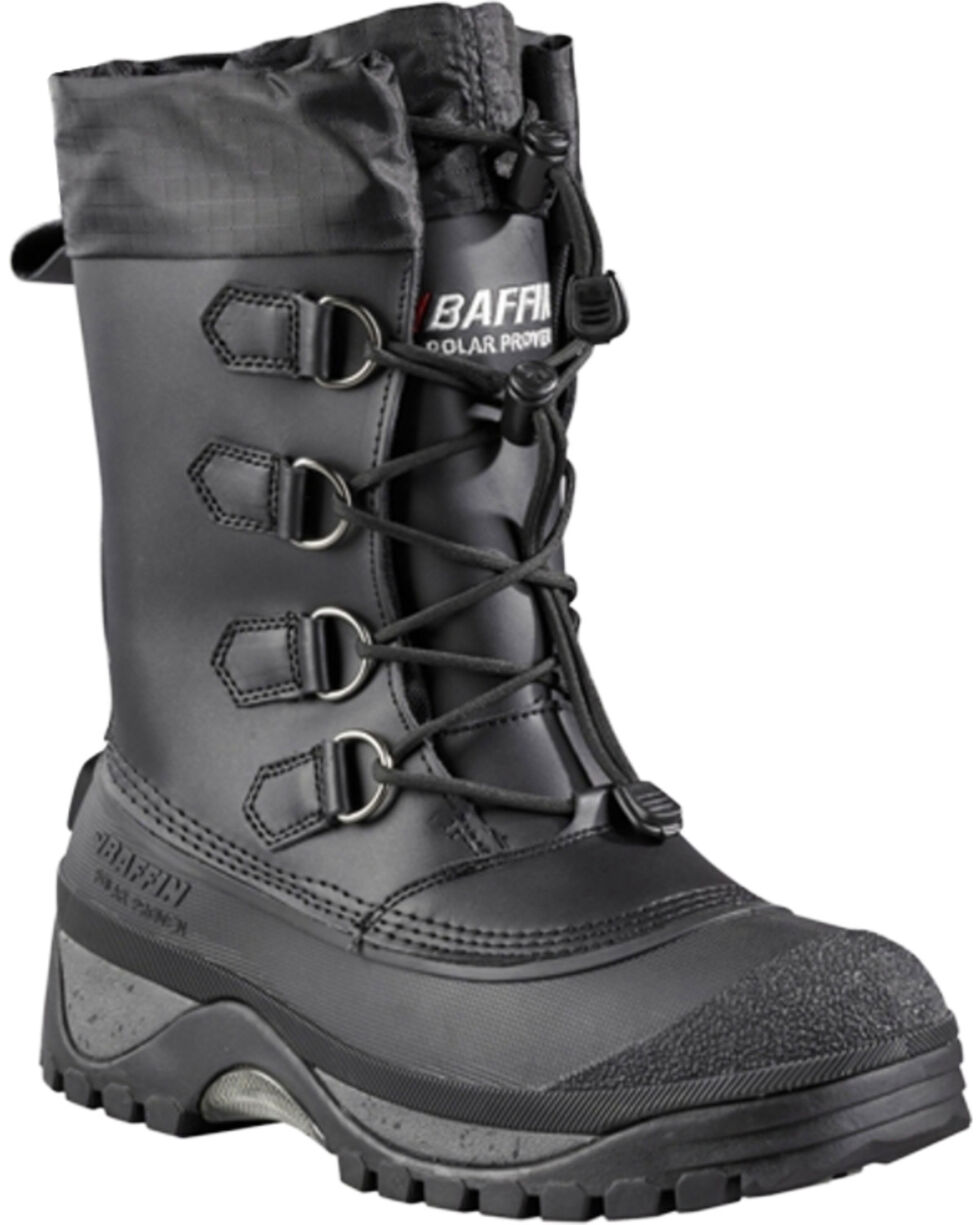 Baffin Men's Muskox Cold Weather Boots - Round Toe, Black, hi-res