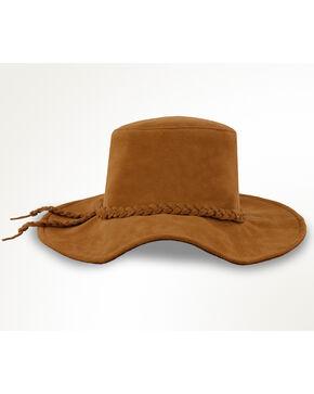 Minnetonka Moccasins Parker Floppy Hat , Medium Brown, hi-res