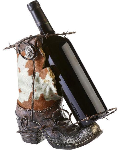 Gift Craft Boot Wine Boottle Holder, No Color, hi-res