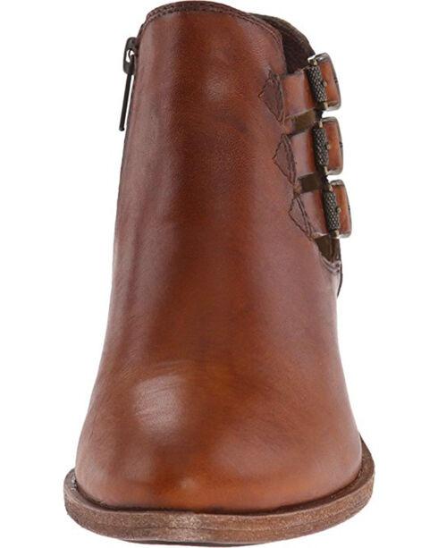 Frye Women's Cognac Ray Belted Booties - Pointed Toe , Cognac, hi-res