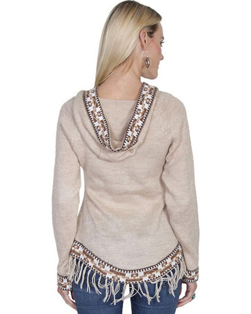 Scully Honey Creek European Alpaca Hooded Pullover Sweater, Sand, hi-res