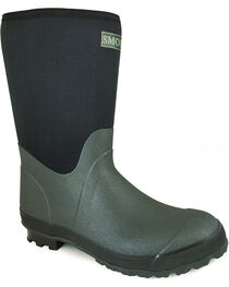 Smoky Mountain Men's Dark Amphibian Boots - Round Toe , , hi-res