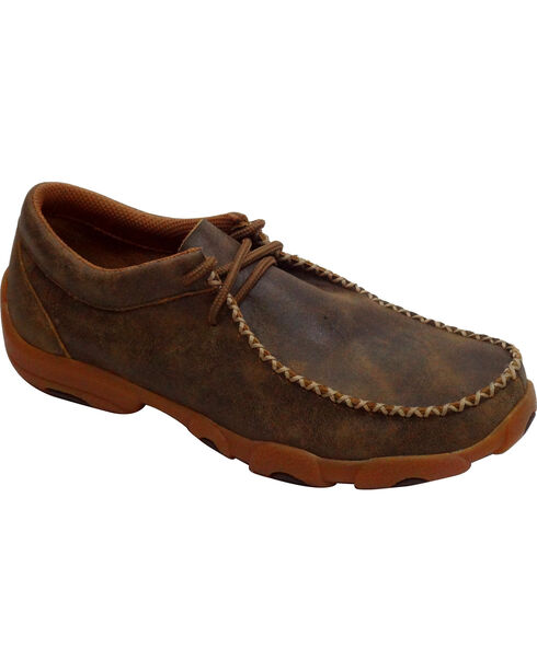Twisted X Men's Driving Moc Casual Shoes, Bomber, hi-res