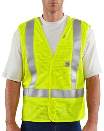 Carhartt Men's FR High-Visibility 5 point breakaway Vest, , hi-res
