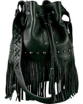 "STS Ranchwear ""The Free Spirit"" Bucket Bag, Black, hi-res"