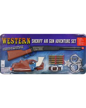 Parris Kid's Western Sheriff Air Gun Adventure Set, No Color, hi-res