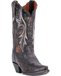 Dan Post Women's Knockout Western Boots, , hi-res