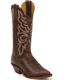 Justin Bent Rail Women's Damiana Western Boots, Cognac, hi-res