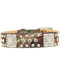 Mossy Oak Concho Dog Collar - S-XL, , hi-res