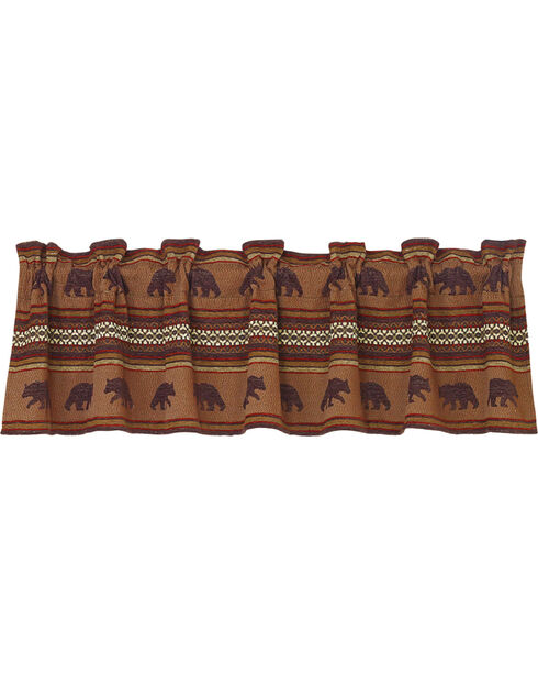 HiEnd Accents Bayfield Bear Valance, Multi, hi-res