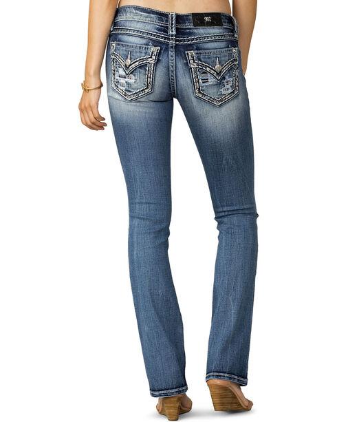 Miss Me Women's Breakthrough Boot Cut Jeans , Indigo, hi-res