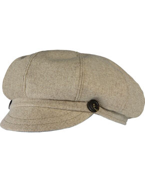 Stormy Kromer Women's The Gatsby Cap, Oatmeal, hi-res