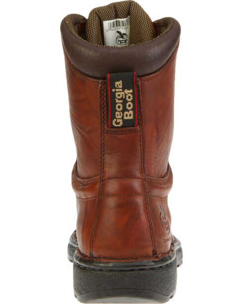 Georgia Men's Eagle Light Work Boots, Russet, hi-res