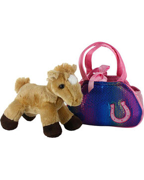Aurora Plush Betsy Bling Fancy Pals Pet Carrier, Multi, hi-res
