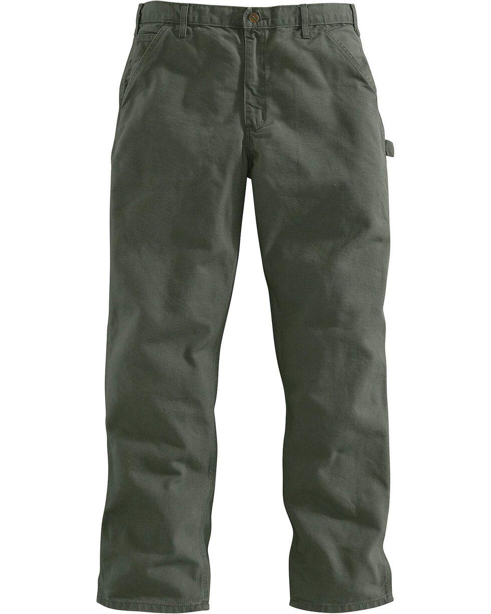 Carhartt Work Dungaree Work Pants, Moss, hi-res