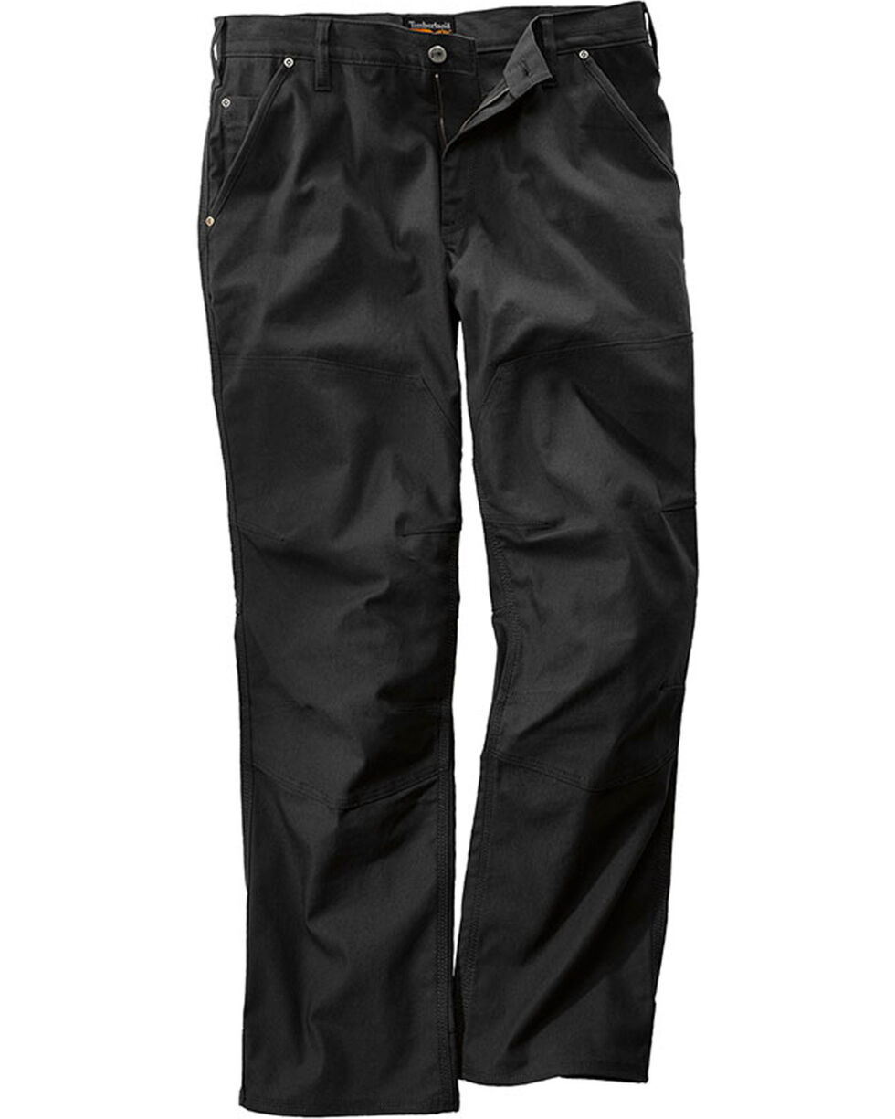 Timberland Pro Men's Black GridFlex Canvas Work Pants , Black, hi-res