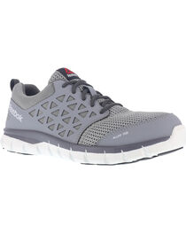 Reebok Men's Mesh Athletic Oxfords - Alloy Toe, , hi-res
