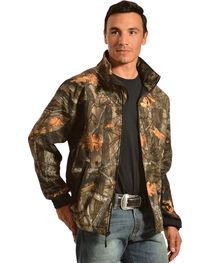 Red Ranch Men's Camo Bonded Fleece Jacket, Camouflage, hi-res
