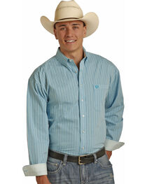 Panhandle Men's Yarndye Satin Check Shirt , , hi-res