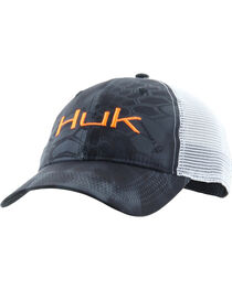 Huk Performance Fishing Kryptek Logo Trucker Cap , , hi-res