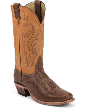 Nocona Men's Delta Legacy Western Boots, Honey, hi-res