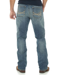 Wrangler 20X Men's 42 Vintage Boot Medium Wash Jeans, , hi-res