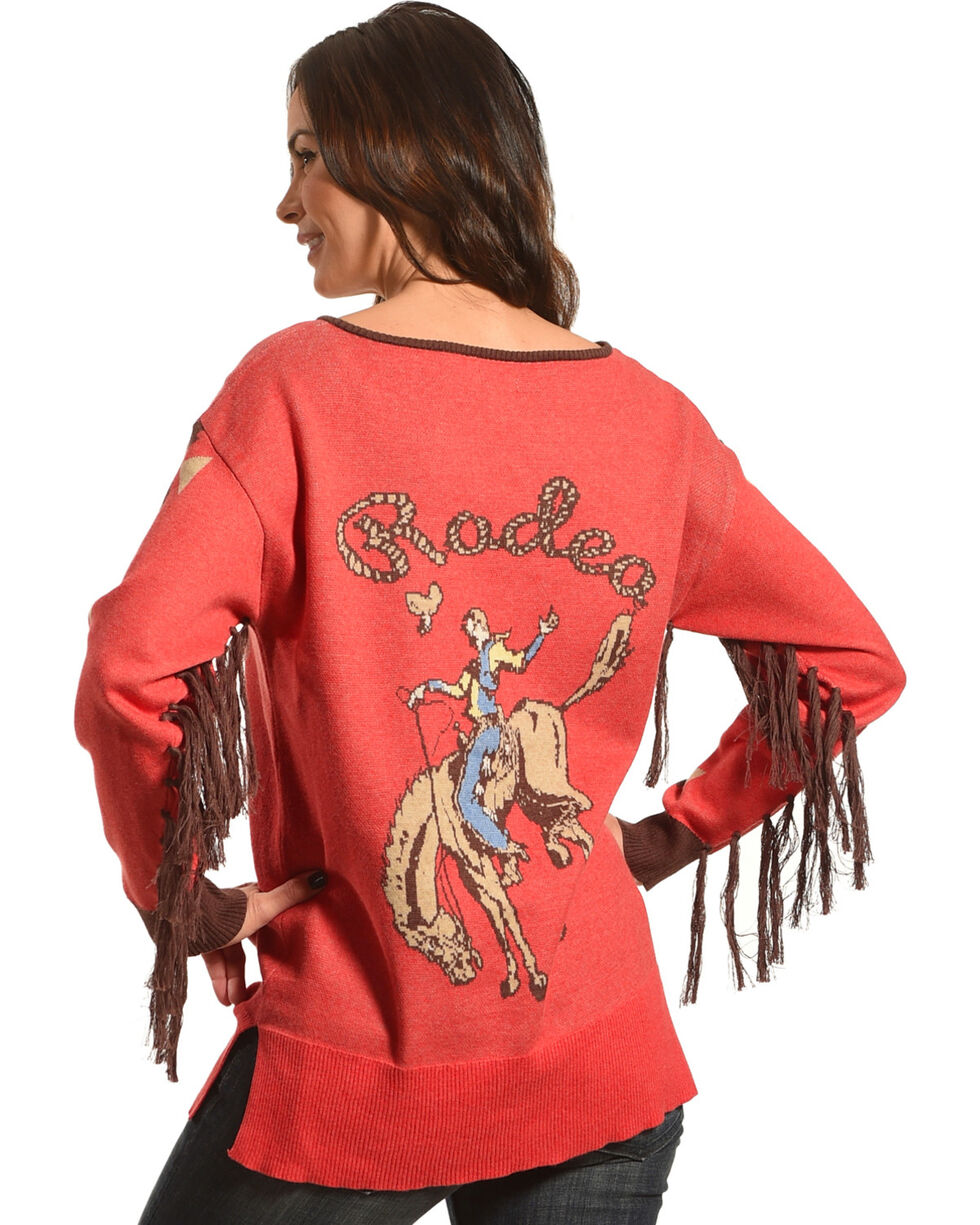 Tasha Polizzi Women's Rodeo Crew Sweater, , hi-res