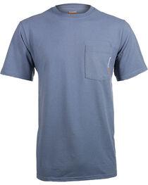 Timberland Pro Men's Blue Base Plate Blended T-Shirt , , hi-res