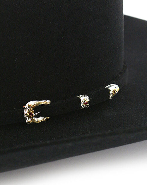 Stetson Men's 20X Paradise Felt Cowboy Hat, Black, hi-res