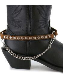 Almax Women's Studded Leather Boot Bracelet, , hi-res