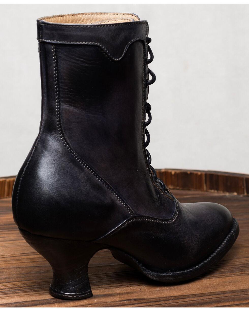 Oak Tree Farms Eleanor Black Boots - Medium Toe, Black, hi-res