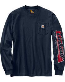 Carhartt Men's Workwear Graphic Carhartt Way Long-Sleeve T-Shirt - Big and Tall , , hi-res