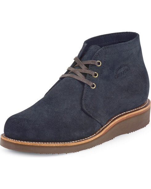 Chippewa Men's Modern Suburban Suede Shoes, Navy, hi-res
