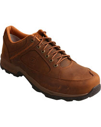 Twisted X Men's Distressed Saddle Hiking Shoes, , hi-res