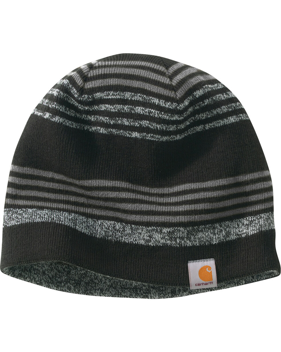 Carhartt Men's Charcoal Gunnison Reversible Hat , Charcoal, hi-res