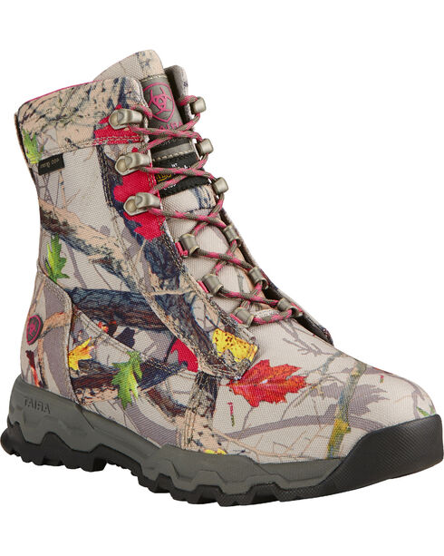 Ariat Women's Hot Leaf Insulated Hiker Boots, Camouflage, hi-res