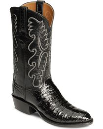 Lucchese Handcrafted Classics Caiman Ultra Belly Cowboy Boots - Medium Toe, , hi-res