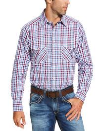 Ariat Men's Red Austin Snap Shirt, , hi-res