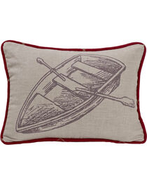 HiEnd Accents South Haven Rowboat Throw Pillow, , hi-res