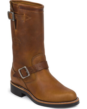 "Chippewa Women's Renegade 11"" Engineer Boots, Tan, hi-res"