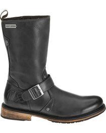 "Harley-Davidson Men's Brendan 10"" Leather Motorcycle Boots, , hi-res"