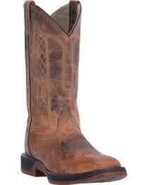 Laredo Men's Bennett Broad Square Toe Western Boots, , hi-res