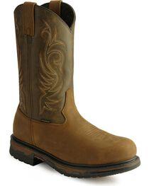 Laredo Men's Brazos Steel Toe Work Boots, , hi-res