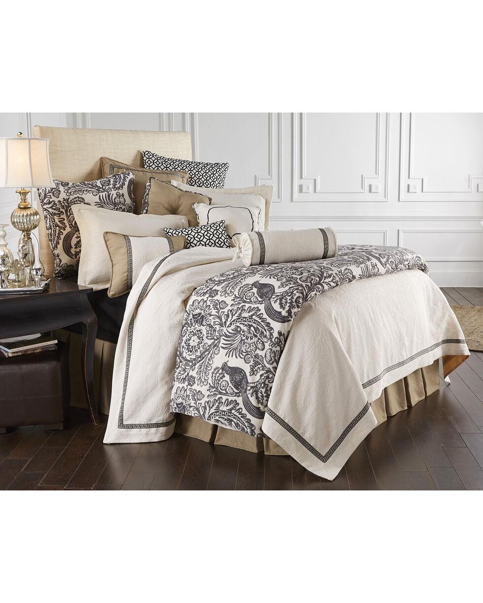 HiEnd Accent Khaki Augusta Four-Piece Bedding Collection, Super Queen, Khaki, hi-res